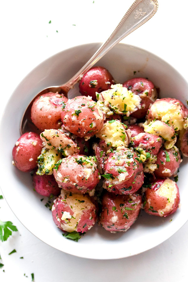 Healthy Red Potato Recipes  The Best Buttery Parsley Potatoes
