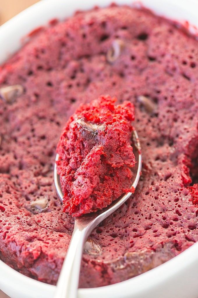 Healthy Red Velvet Cake  Healthy Red Velvet Mug Cake