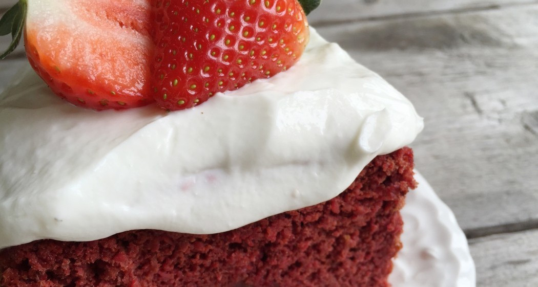 Healthy Red Velvet Cake  Healthy Red Velvet Cake