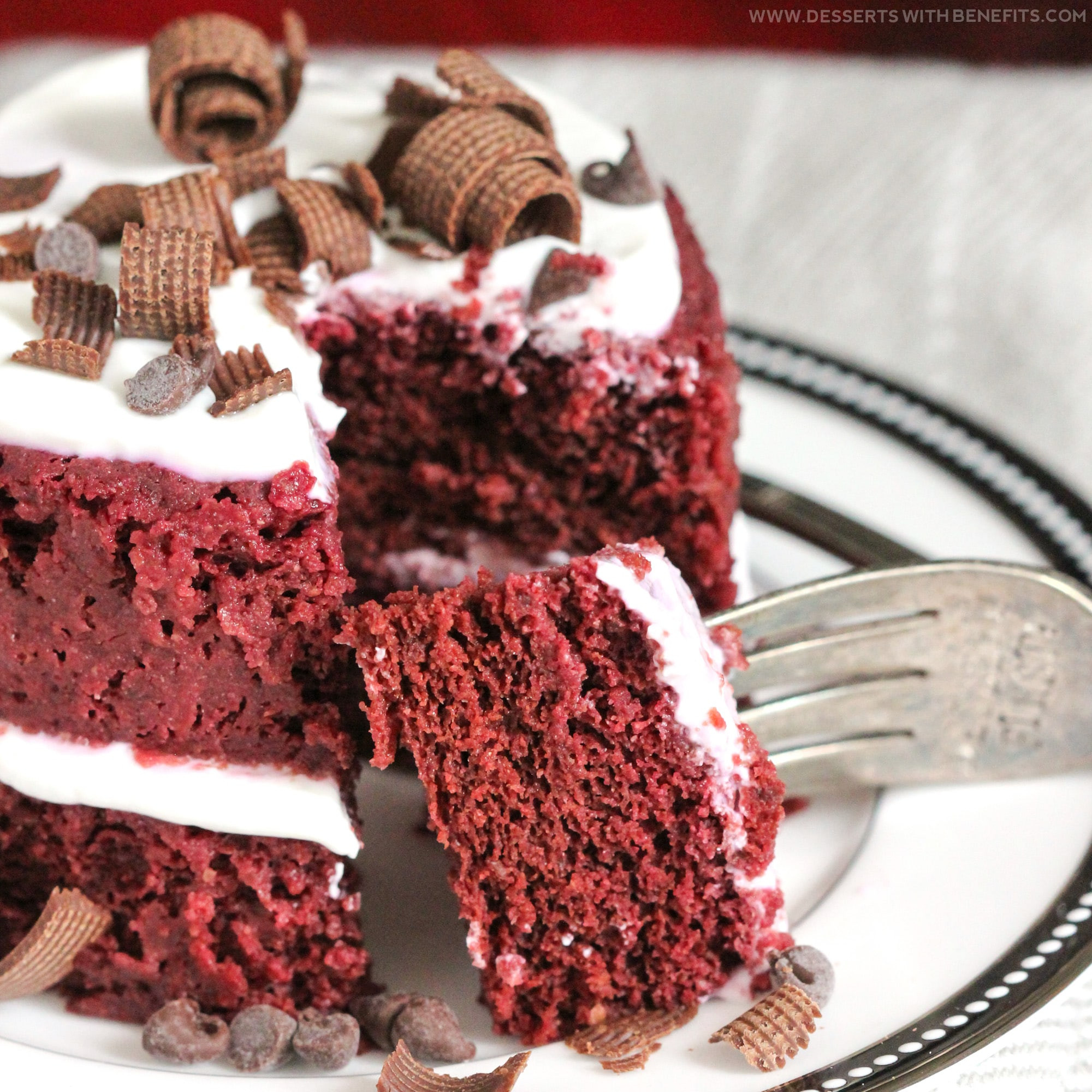 Healthy Red Velvet Cake  Healthy Single Serving Red Velvet Microwave Cake