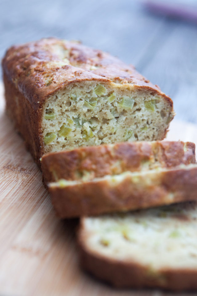 Healthy Rhubarb Bread  Rhubarb Bread