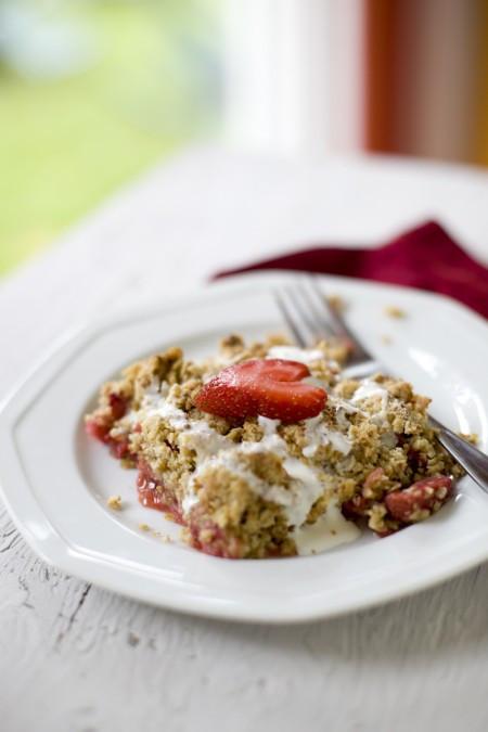 Healthy Rhubarb Desserts  Healthy Strawberry Rhubarb Crisp Recipe