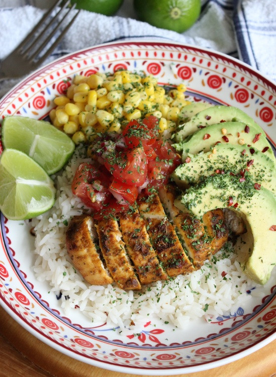 Healthy Rice Bowl Recipes  Mexican Rice Bowl Recipe — Dishmaps