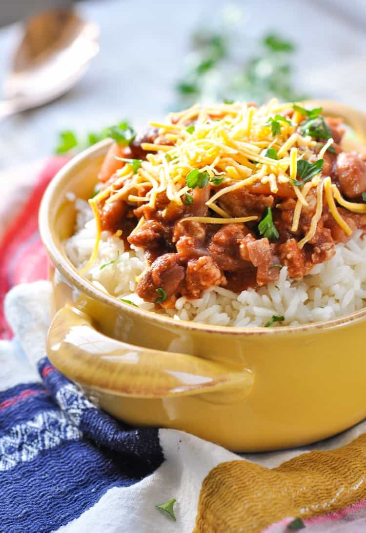 Healthy Rice Dinners  Mom s 20 Minute Red Beans and Rice The Seasoned Mom