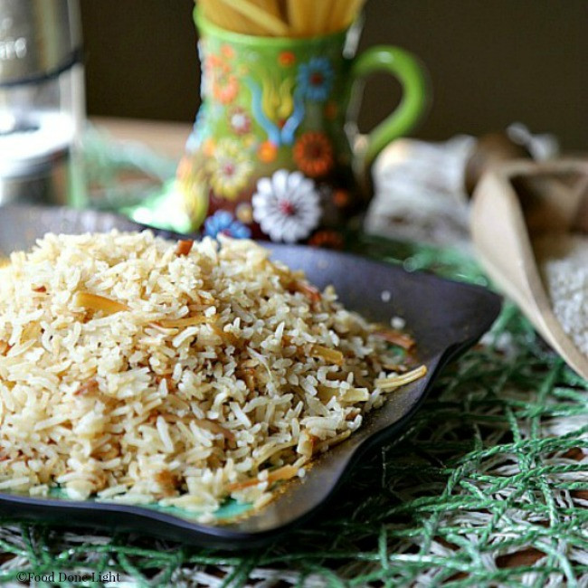 Healthy Rice Pilaf  Broken Spaghetti Rice Pilaf