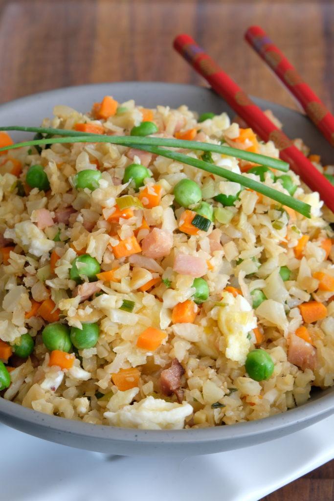 Healthy Rice Side Dishes  Healthy Ham Fried Cauli Rice