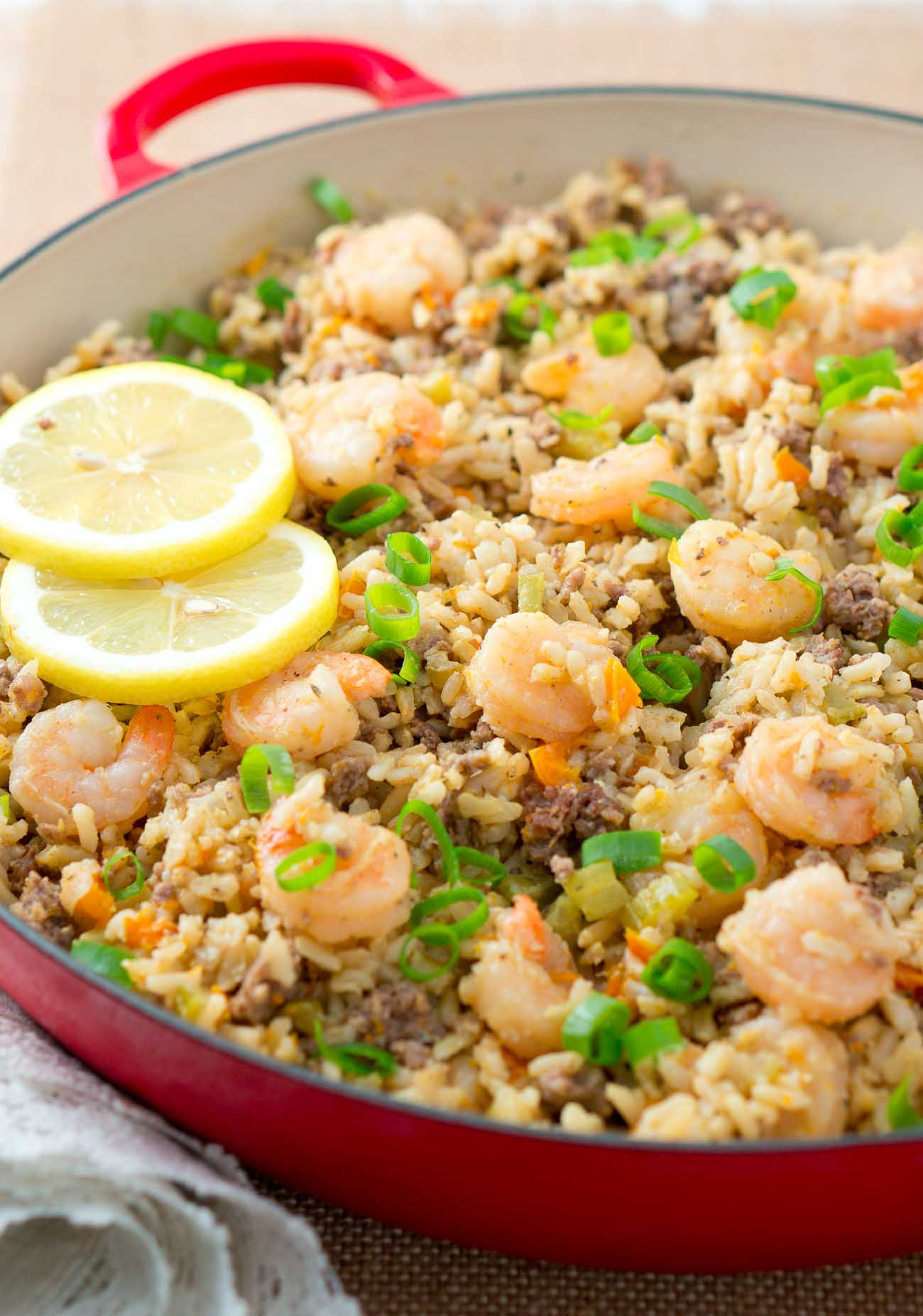 Healthy Rice Side Dishes For Chicken  Easy Dirty Rice with Shrimp