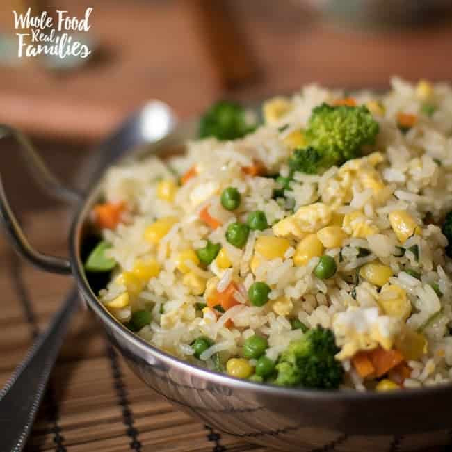 Healthy Rice Side Dishes  Healthy Ve able Fried Rice