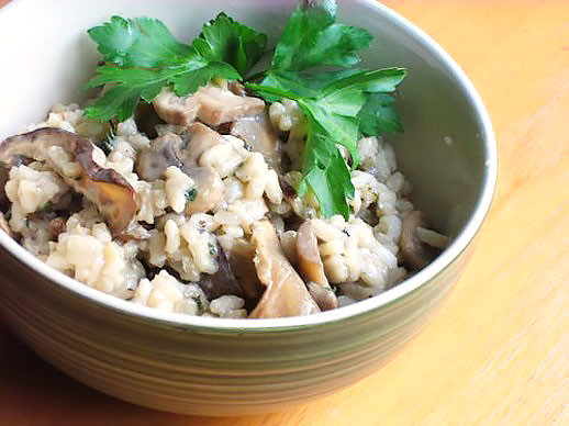Healthy Risotto Recipes  Mushroom Risotto