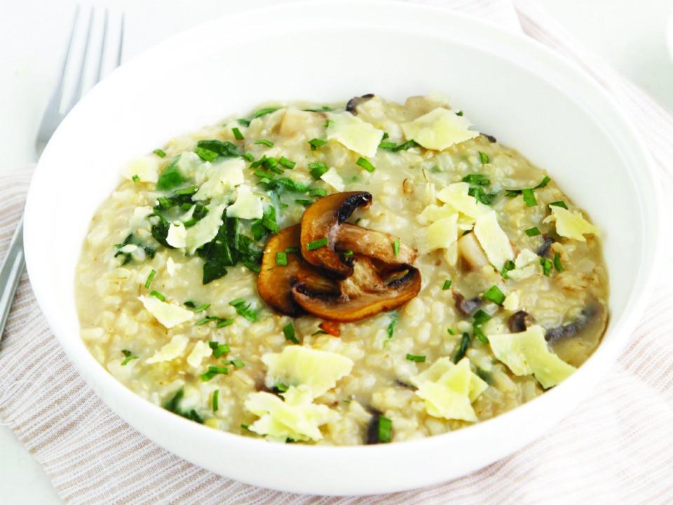 Healthy Risotto Recipes  Deliciously Healthy Mushroom Risotto