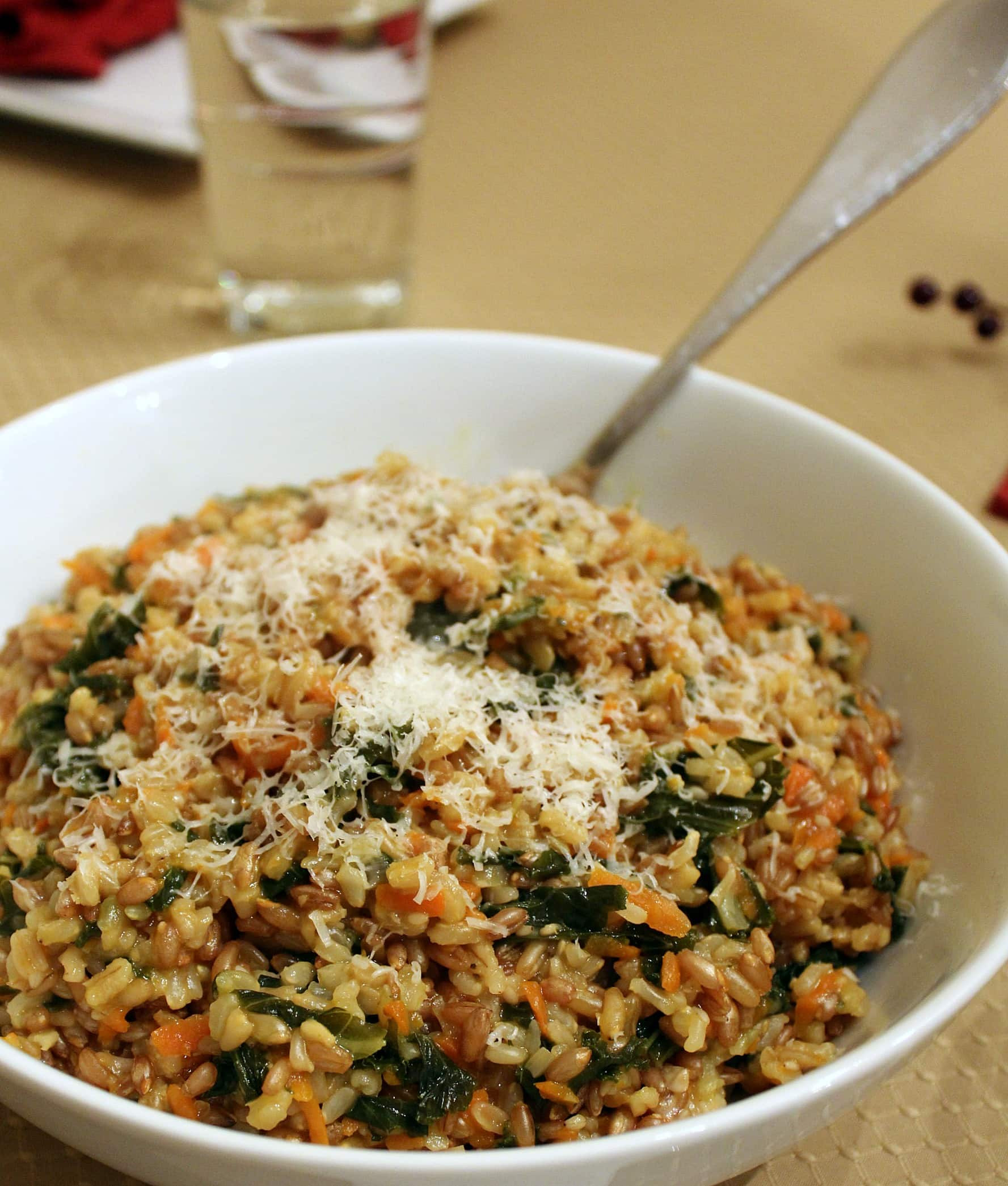 Healthy Risotto Recipes  Healthy New Year Whole Grain Risotto with Kale and