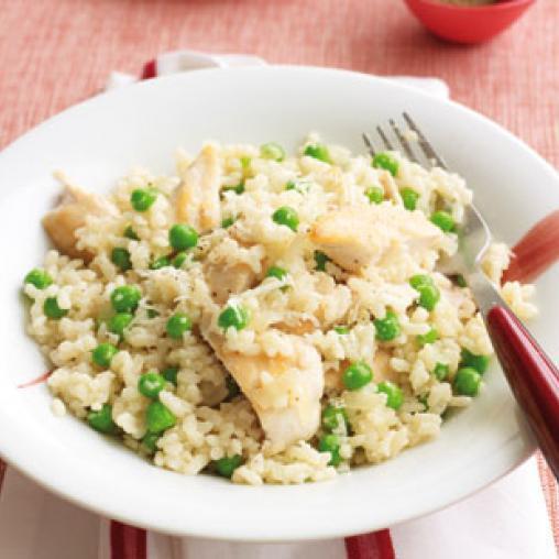 Healthy Risotto Recipes  Speedy chicken risotto