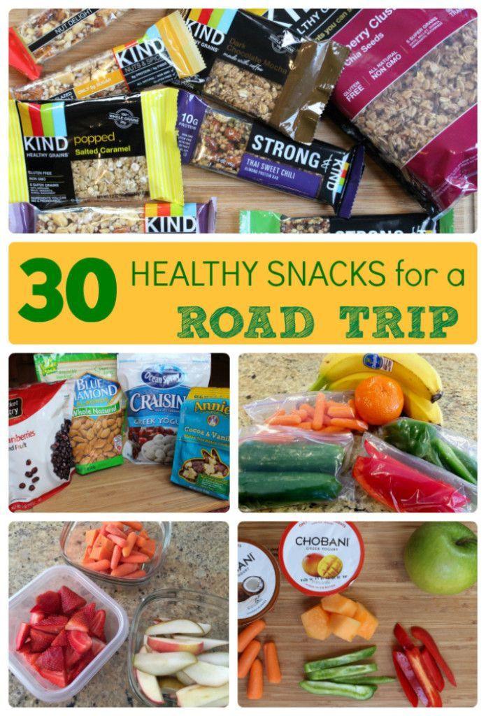 Healthy Road Trip Snacks  25 best ideas about Road Trip Snacks on Pinterest