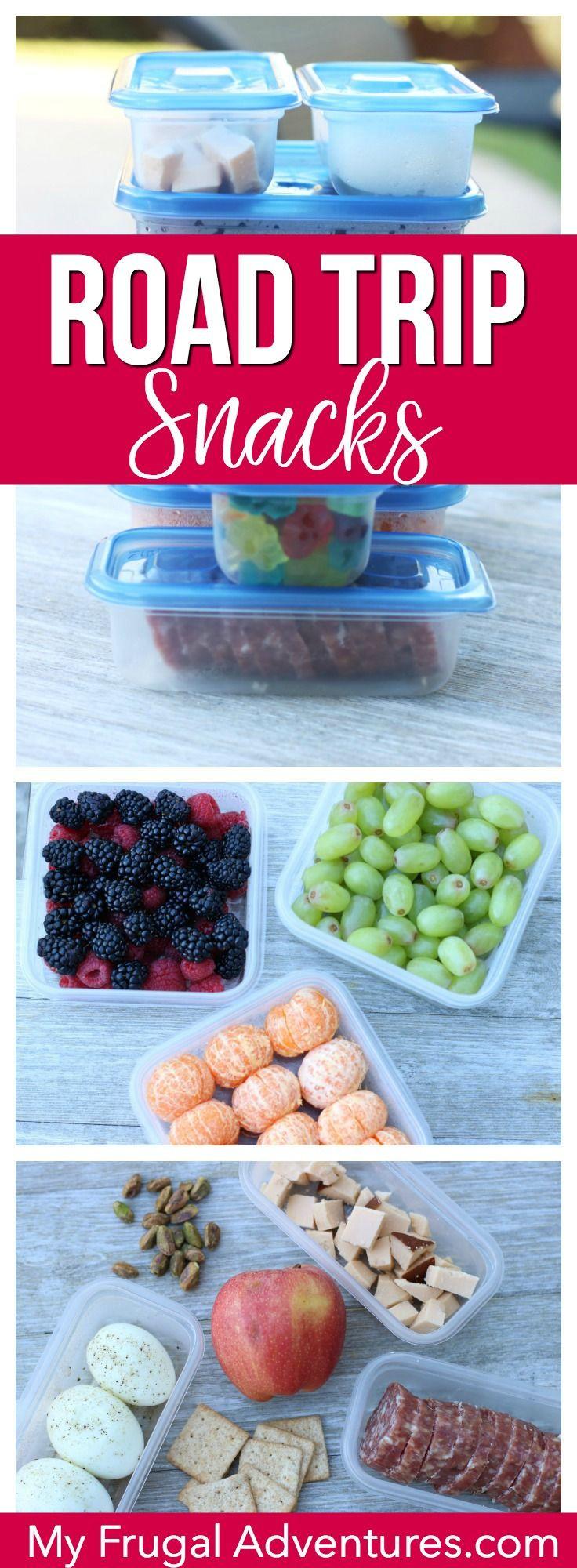 Healthy Road Trip Snacks  Simple healthy ish and fun road trip snack ideas Pack