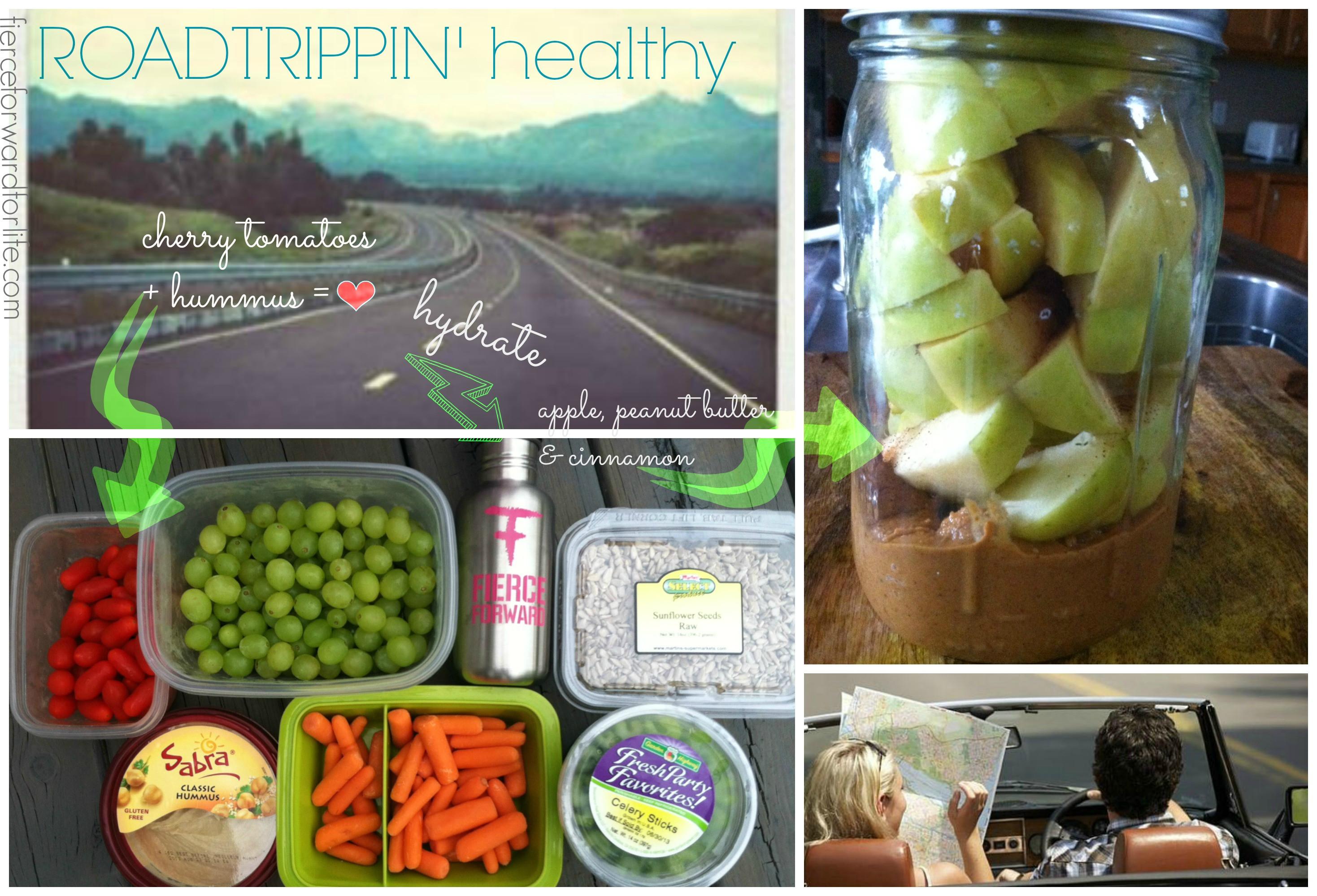 Healthy Road Trip Snacks  Road Trip Healthy Snacks Fierce Forward