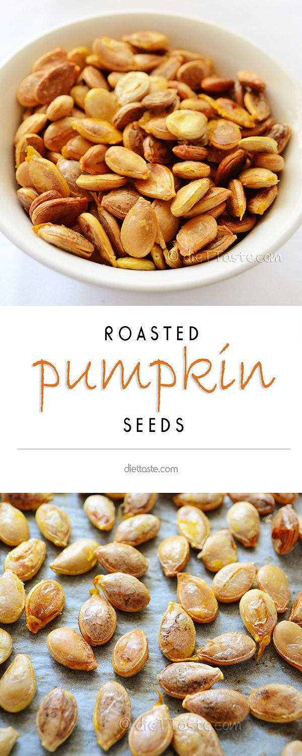 Healthy Roasted Pumpkin Seeds  1000 images about Natural Healthy Foods on Pinterest