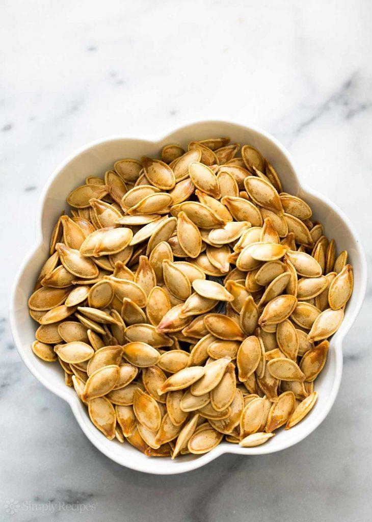 Healthy Roasted Pumpkin Seeds  3 healthy tasty pumpkin seed recipes