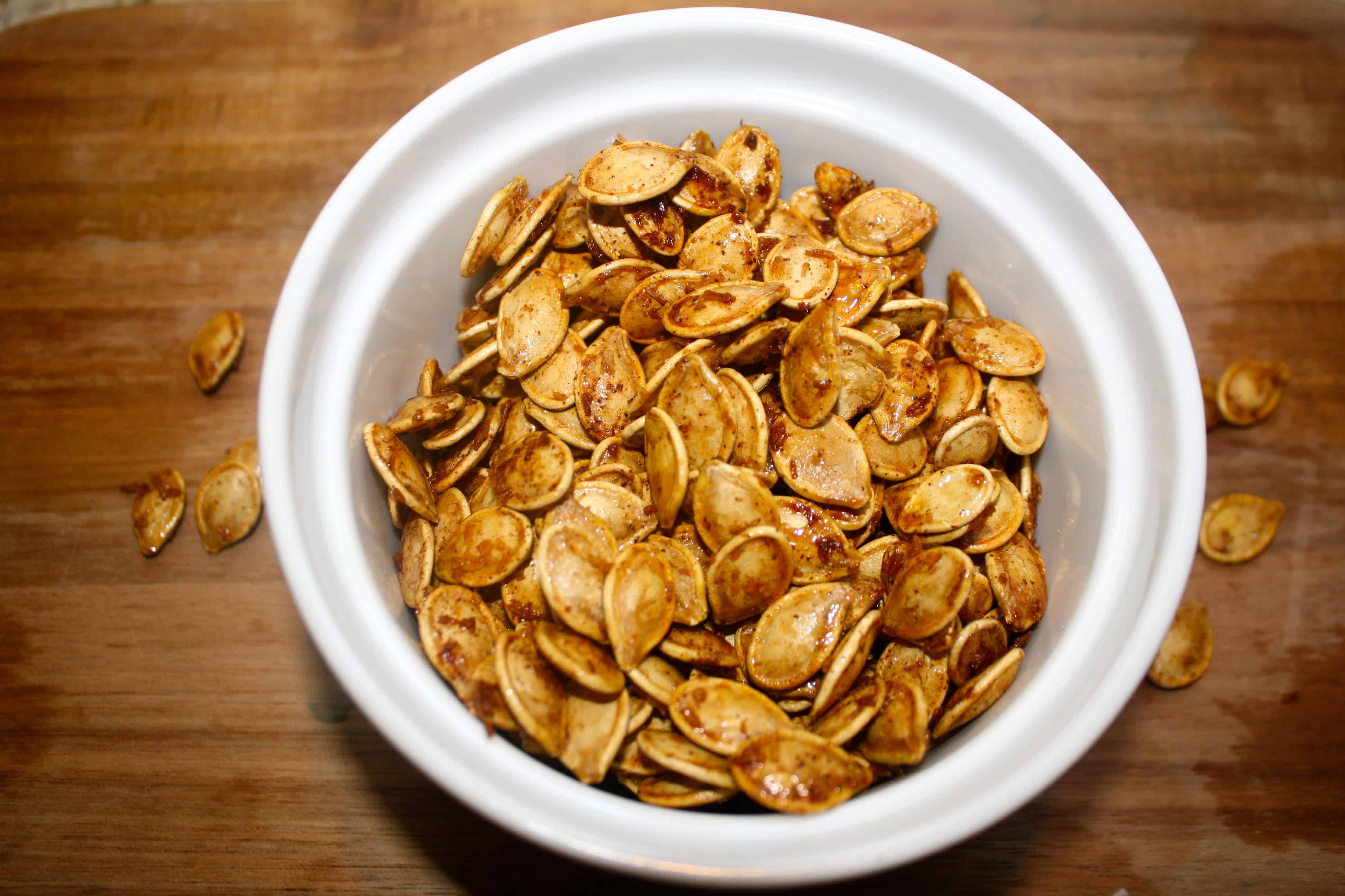 Healthy Roasted Pumpkin Seeds  How To Perfectly Roast Pumpkin Seeds • AwesomeJelly