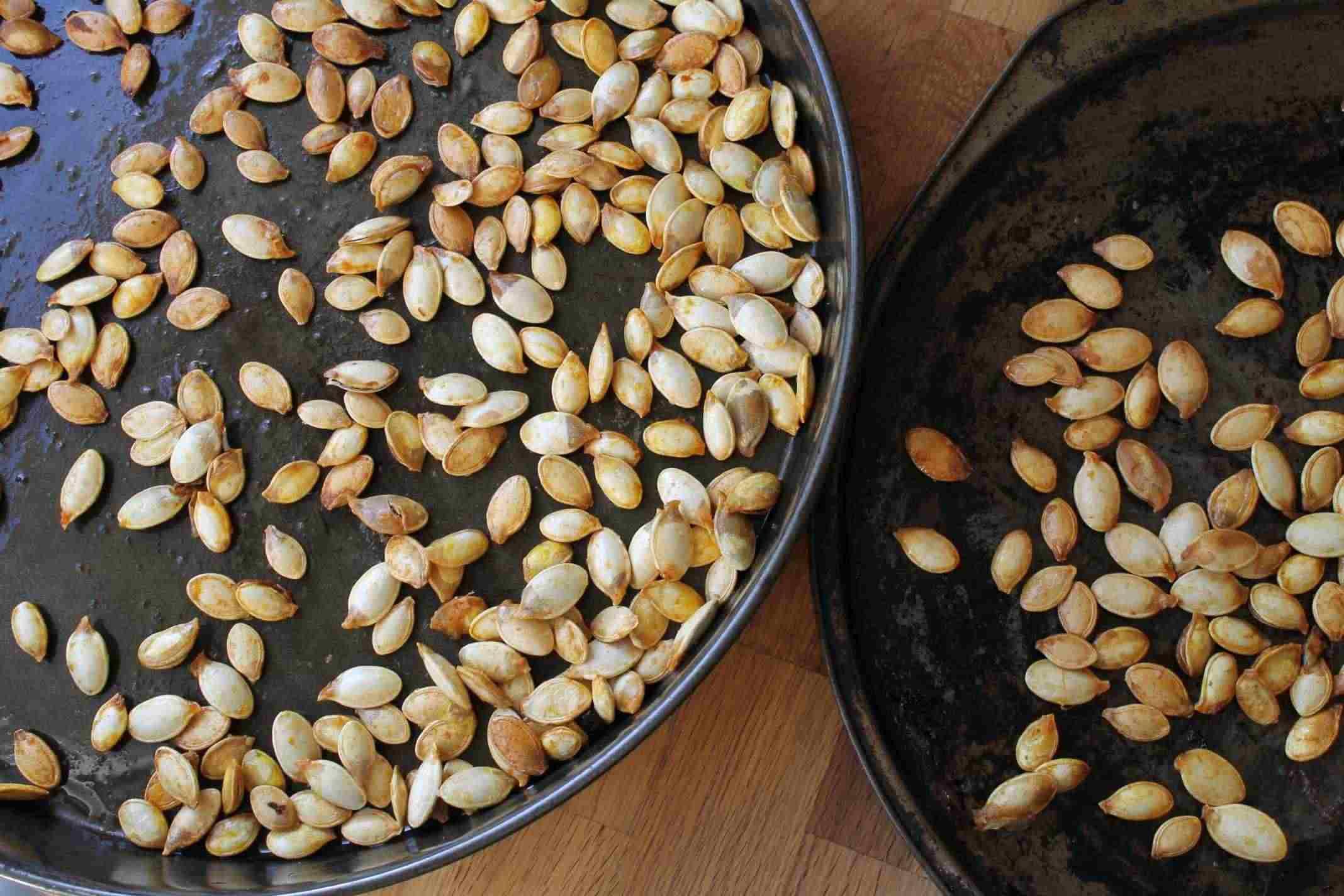 Healthy Roasted Pumpkin Seeds  roasted pumpkin seeds story of a kitchen