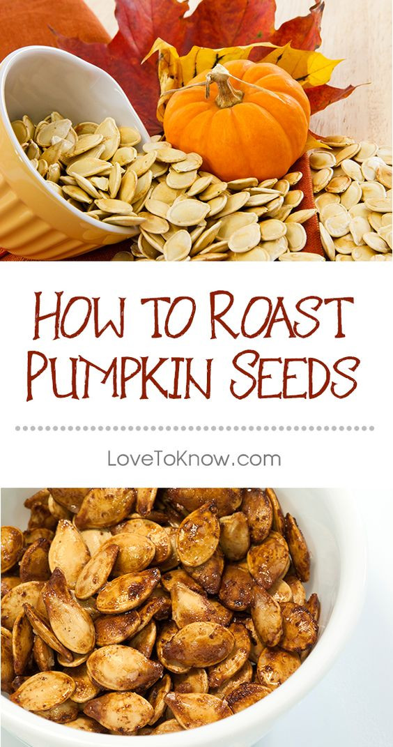 Healthy Roasted Pumpkin Seeds  Pumpkin seeds are packed with nutrients like protein