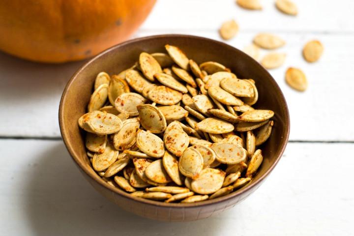 Healthy Roasted Pumpkin Seeds  Savory Roasted Pumpkin Seeds a Healthy Snack