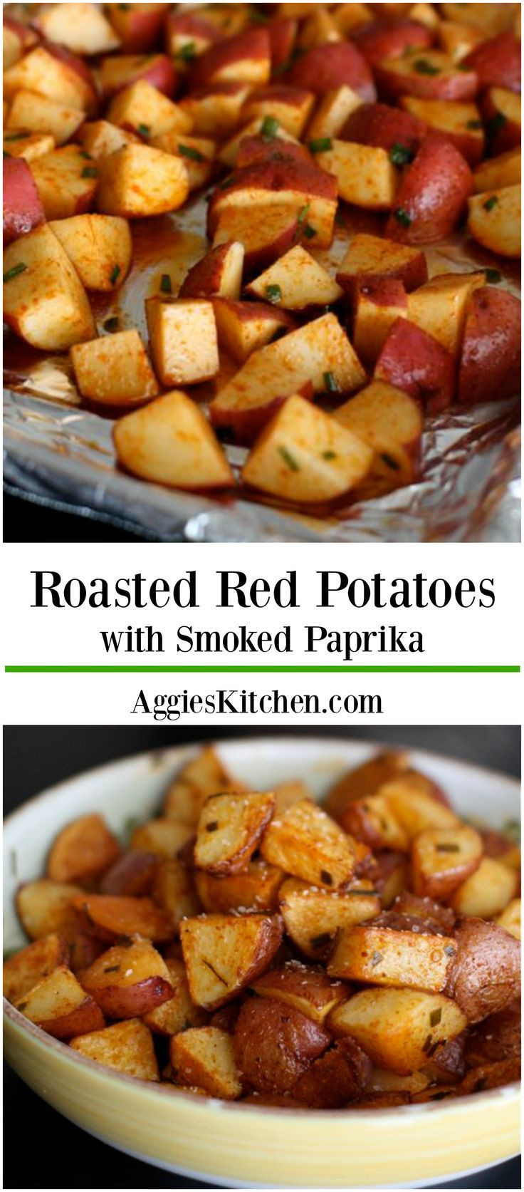 Healthy Roasted Red Potatoes  Roasted Red Potatoes with Smoked Paprika Recipe