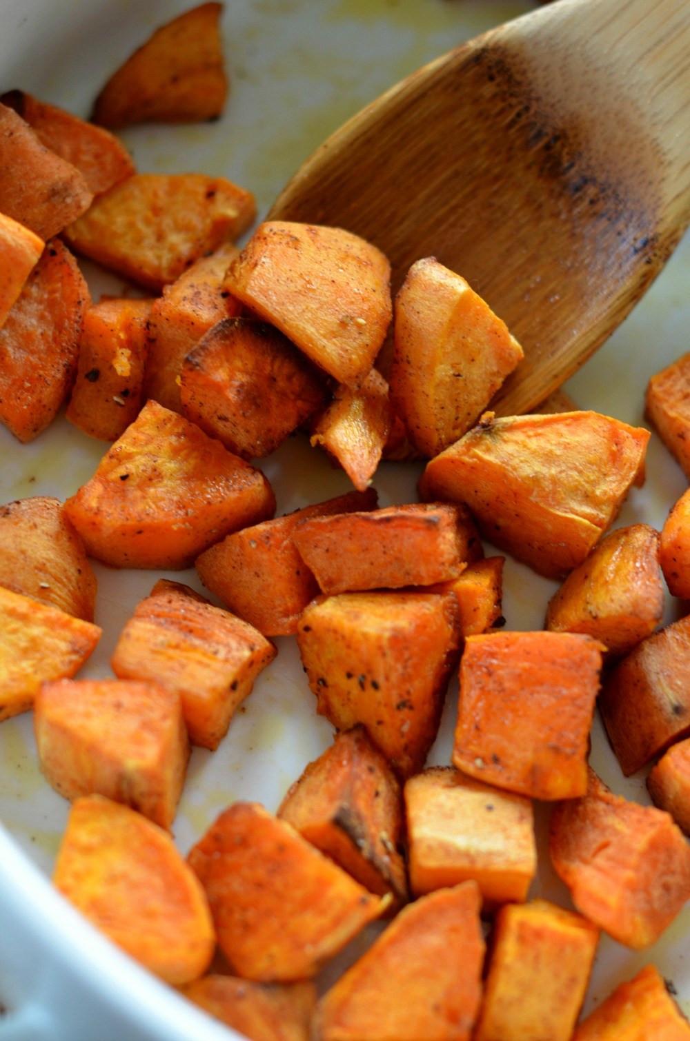 Healthy Roasted Sweet Potatoes  Roasted Sweet Potatoes