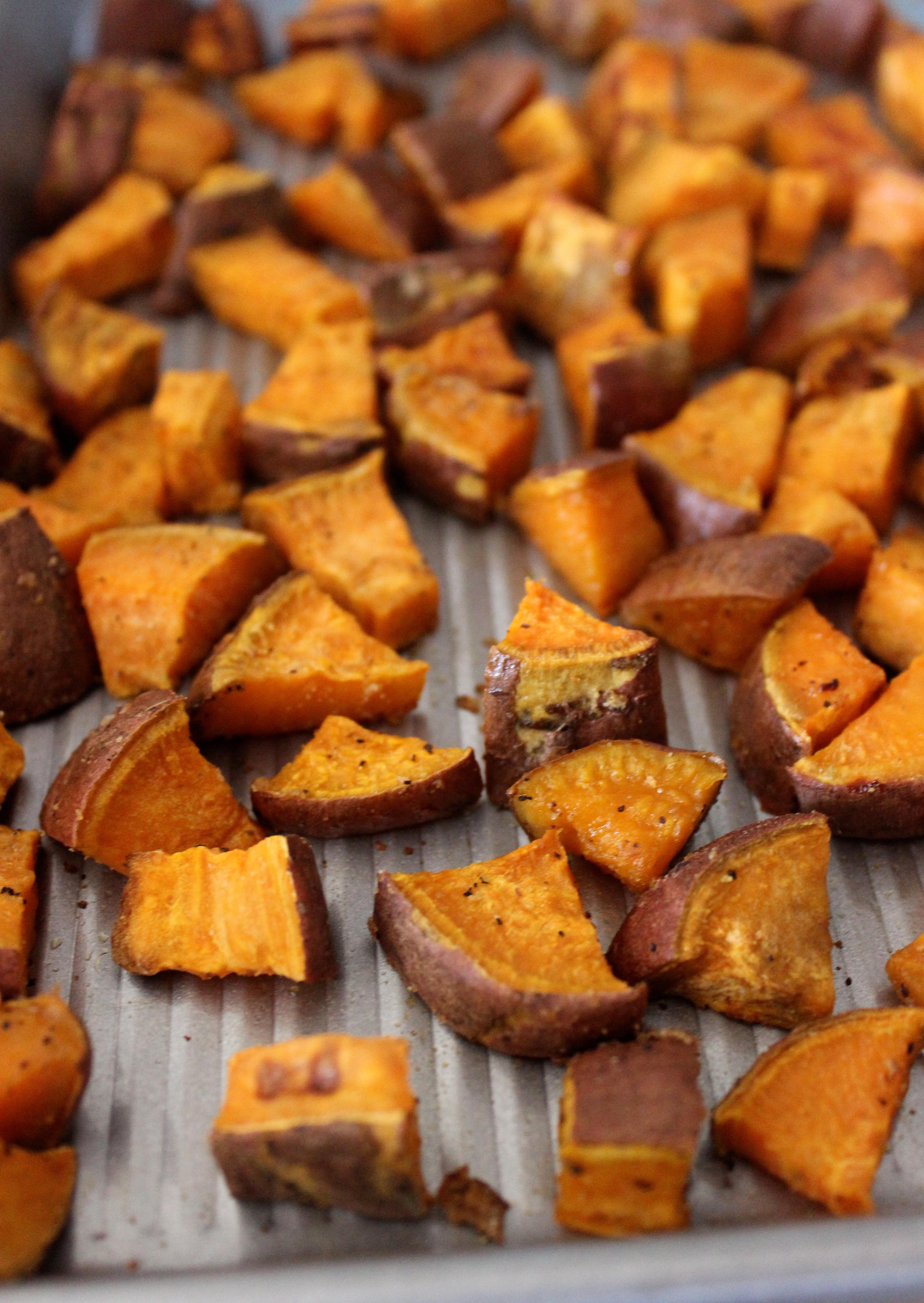 Healthy Roasted Sweet Potatoes  Simple Roasted Sweet Potatoes Healthy Liv