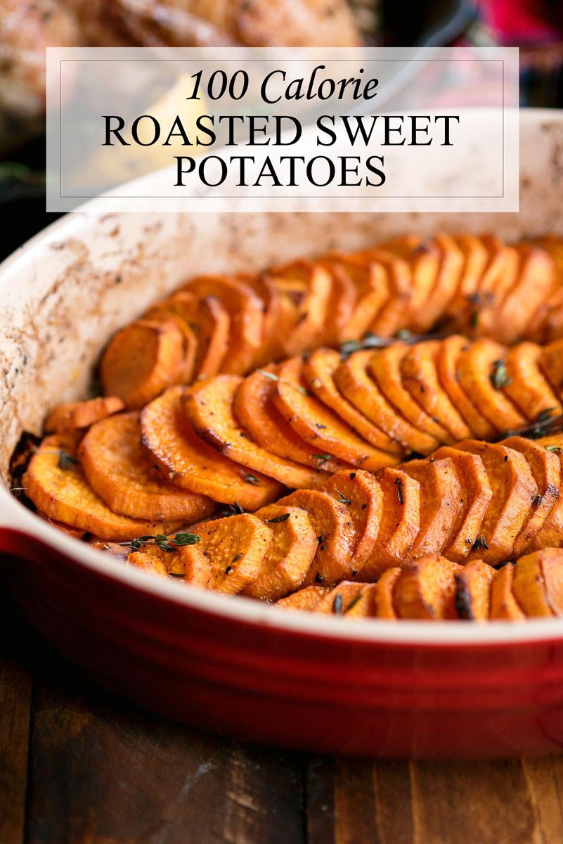 Healthy Roasted Sweet Potatoes  Healthy Oven Baked Sweet Potatoes A Side of Sweet
