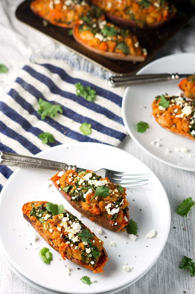 Healthy Roasted Sweet Potatoes  Healthy Twice Baked Sweet Potatoes Bound By Food