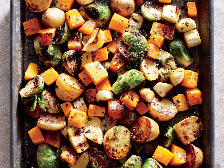 Healthy Roasted Vegetables  Sheet Pan Roasted Ve ables Recipe Cooking Light
