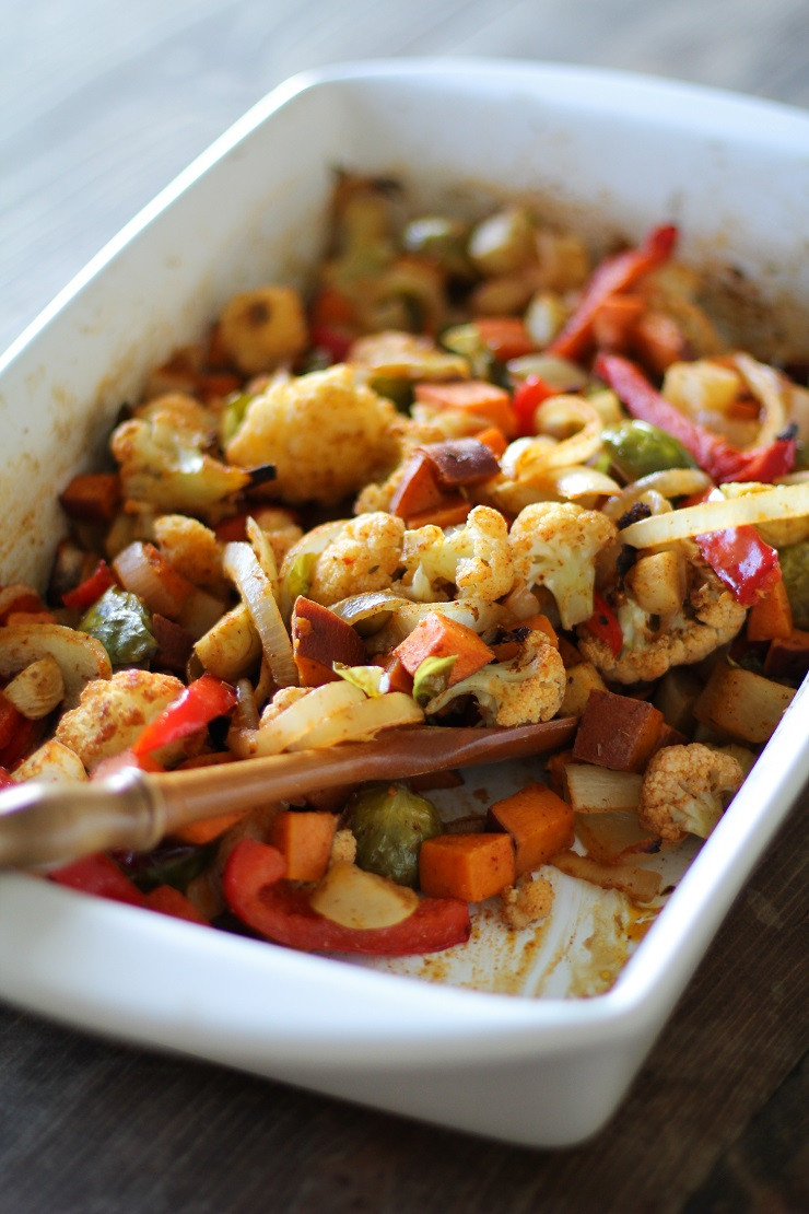 Healthy Roasted Vegetables Recipe  My Go To Balsamic Roasted Ve ables Recipe The Roasted Root