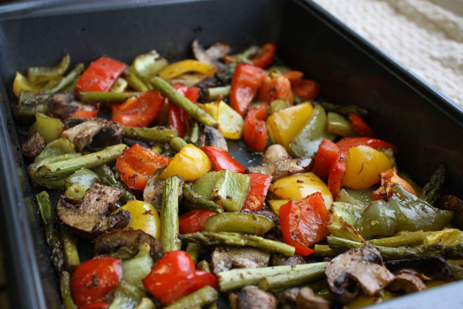 Healthy Roasted Vegetables Recipe  Balsamic Dijon Roasted Ve ables Get f Your Tush and