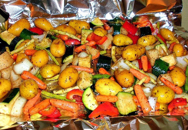 Healthy Roasted Vegetables  2 Quick and Healthy Summer Meals Prep ce Eat Twice