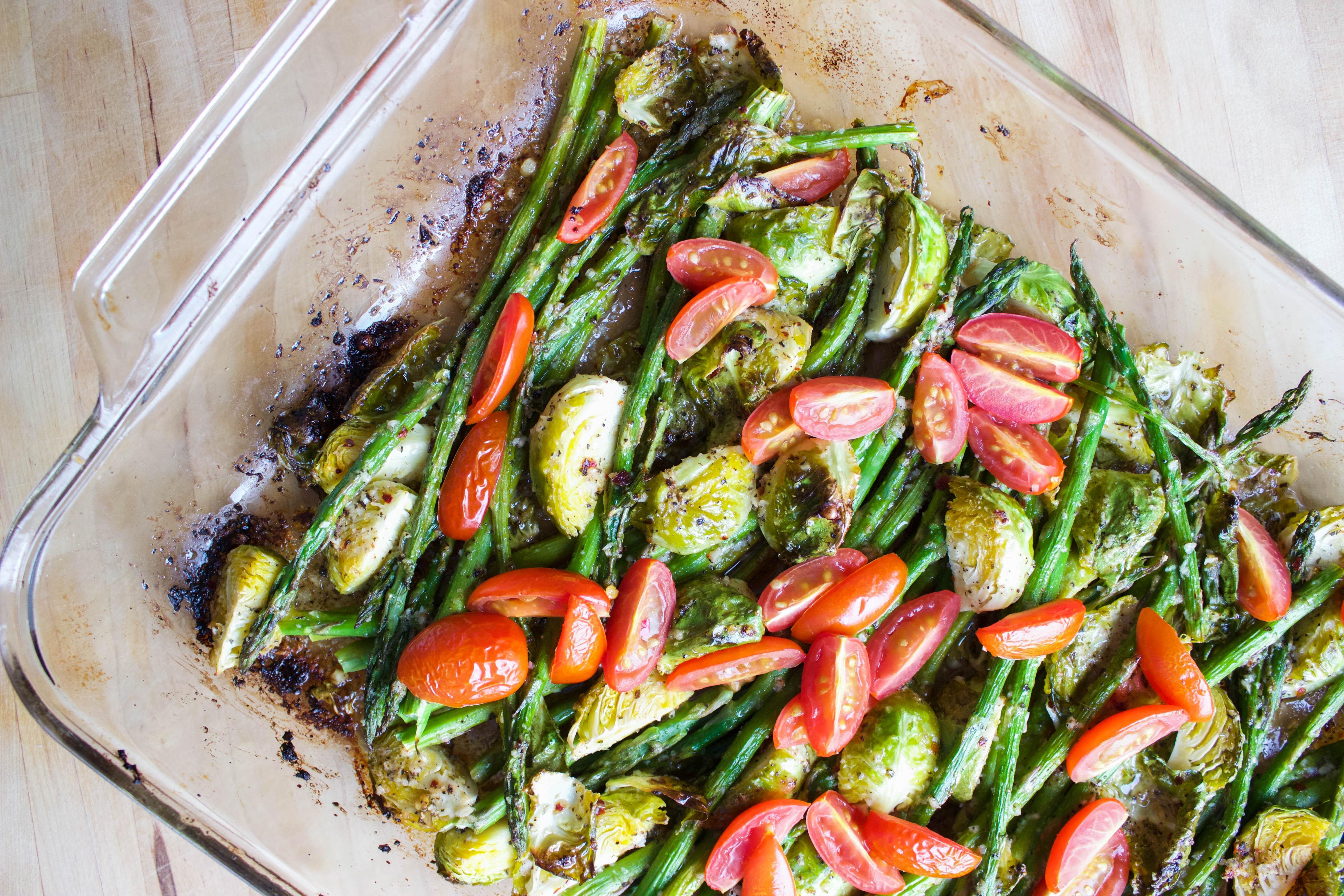 Healthy Roasted Vegetables  Garlic & Lemon Roasted Ve ables