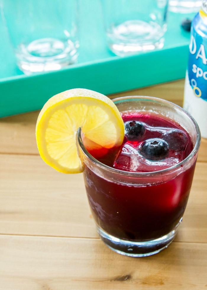Healthy Rum Drinks  Light Lemonberry Rum Drink Recipe