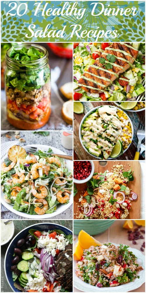 Healthy Salad Recipes For Dinner  20 Healthy Dinner Salads