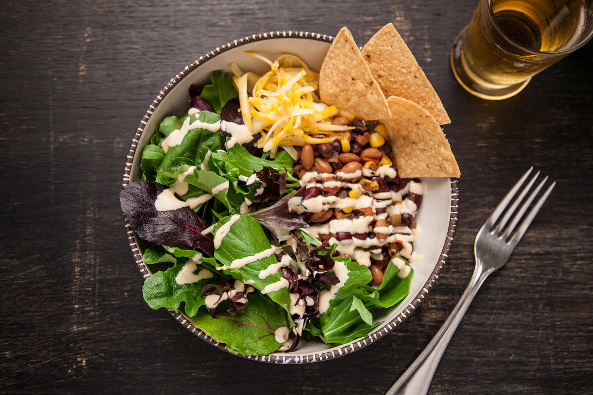 Healthy Salad Recipes For Dinner  Ve arian Taco Salad Recipe Chowhound