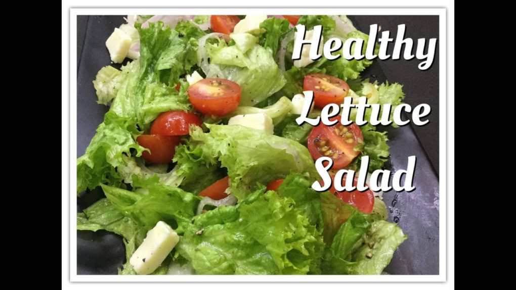 Healthy Salad Recipes Weight Loss  Lettuce Salad recipes Healthy salad recipes