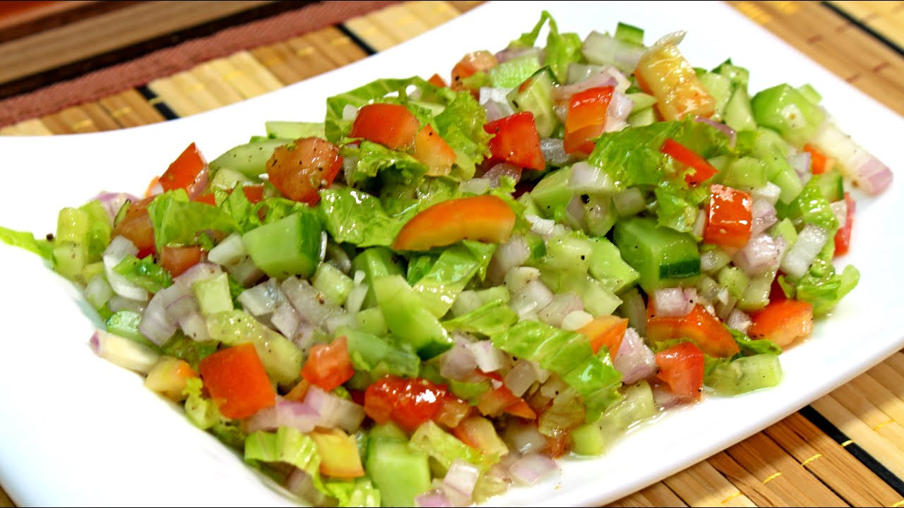 Healthy Salad Recipes Weight Loss  Weight Loss Salad Recipe By Food In 5 Minutes