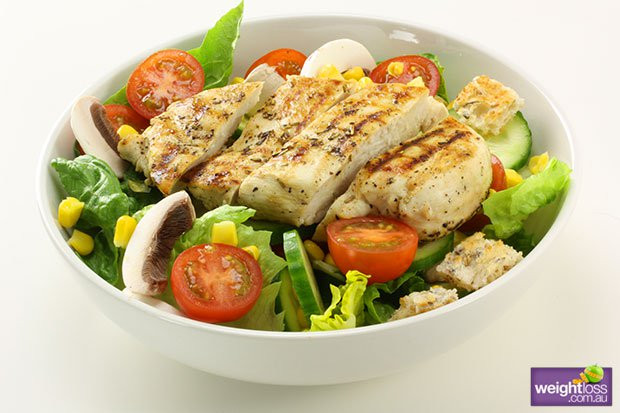 Healthy Salad Recipes Weight Loss  Healthy Chicken Salad