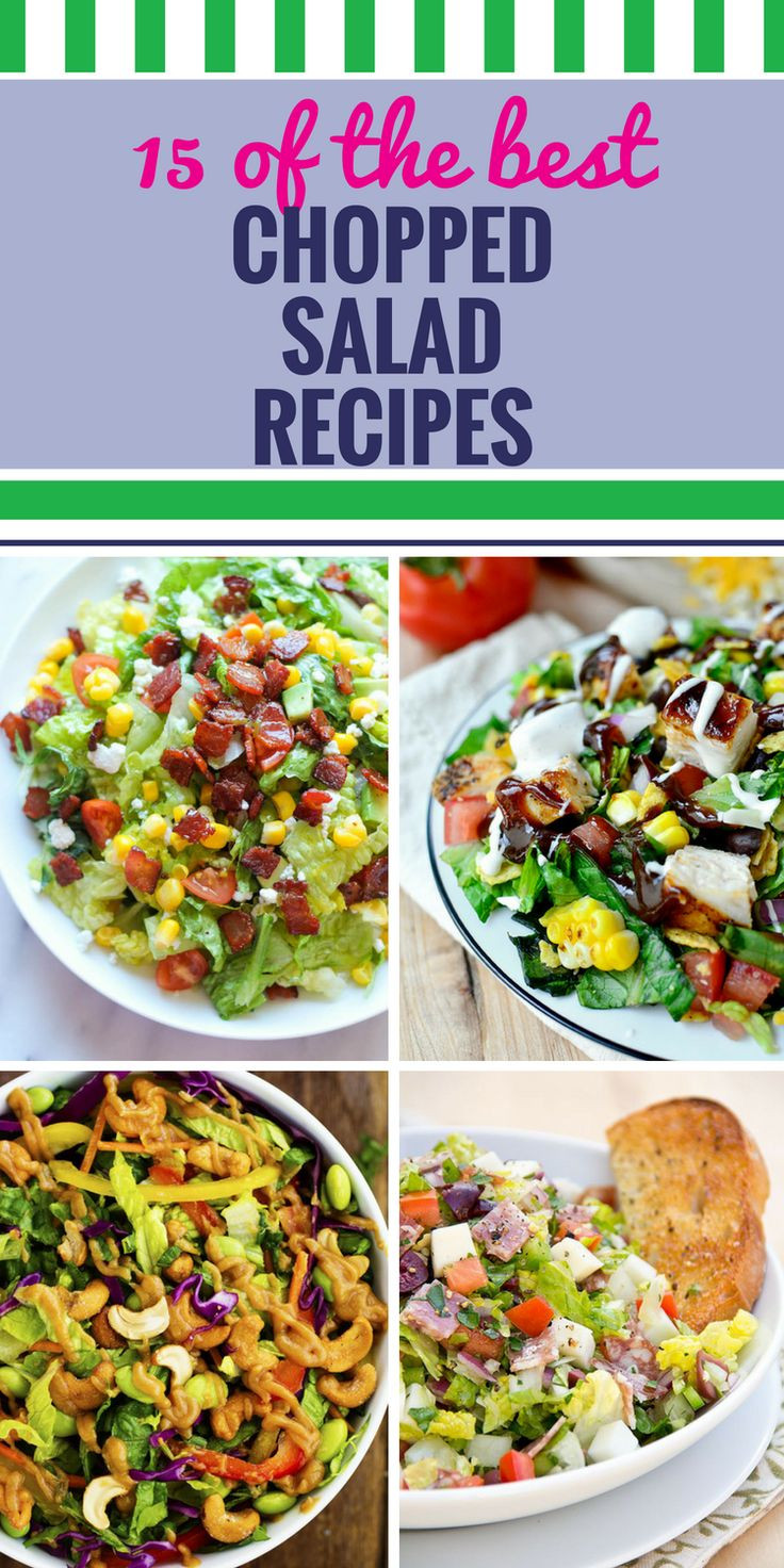 Healthy Salads For Dinner  25 best ideas about Chopped salads on Pinterest
