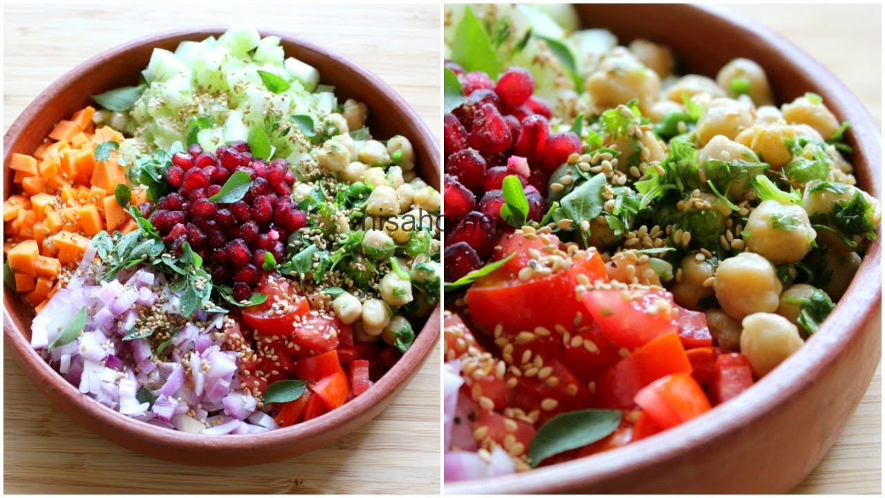 Healthy Salads For Lunch To Lose Weight  Weight Loss Salad Recipe For Dinner How To Lose Weight