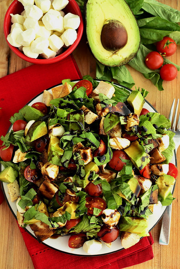 Healthy Salads For Lunch To Lose Weight  Grilled Chicken & Cheesy Vegan Salad – List Healthy Lunch