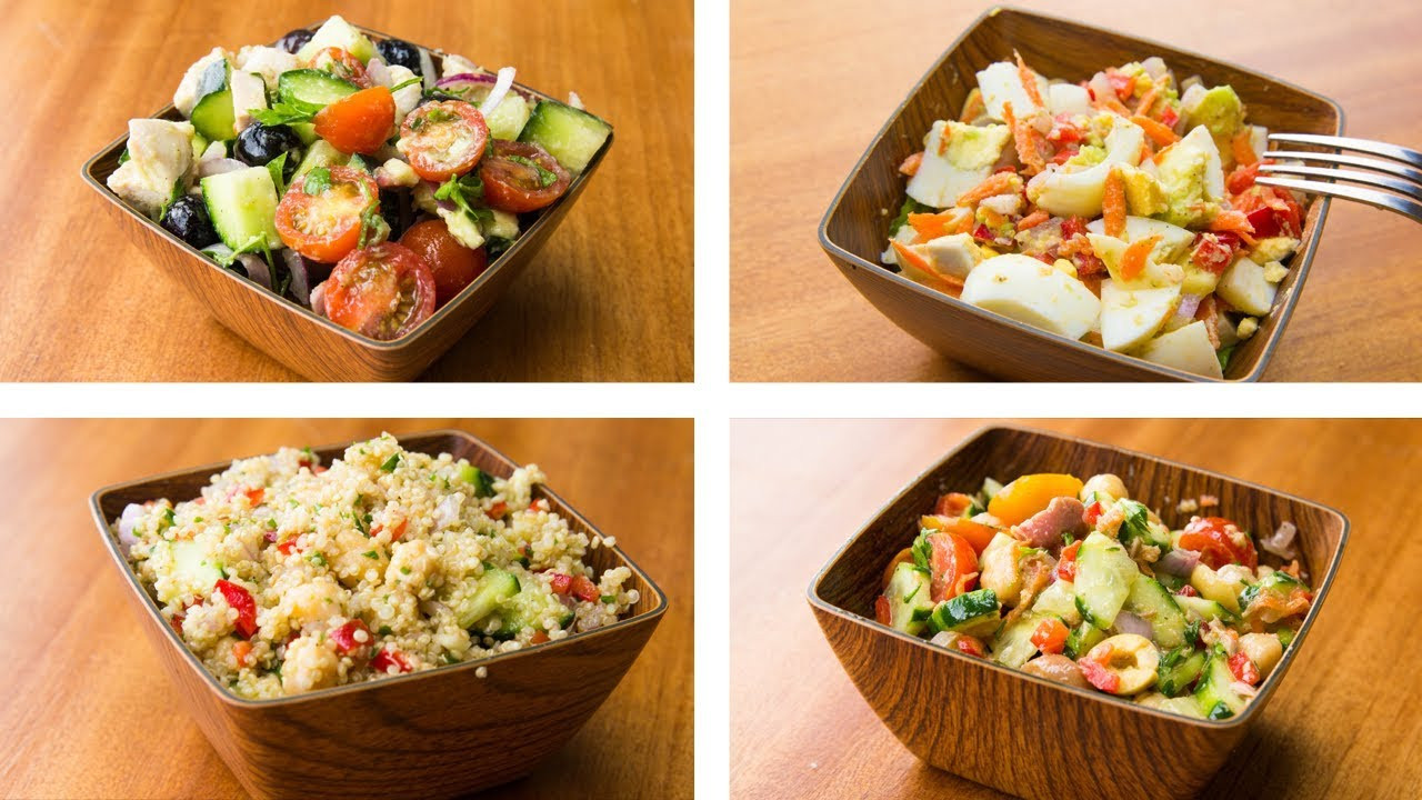Healthy Salads For Lunch To Lose Weight  4 Healthy Salad Recipes For Weight Loss