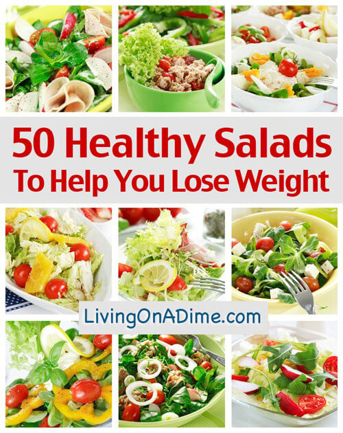 Healthy Salads For Weight Loss  50 Healthy Salad Recipes To Help You Lose Weight