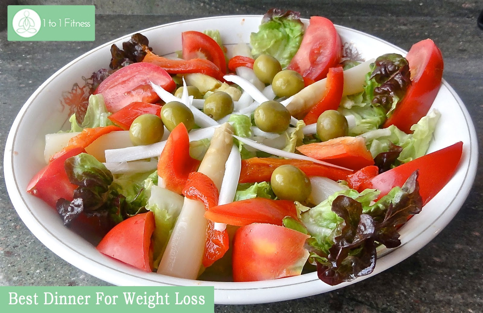 Healthy Salads For Weight Loss  Which Is The Best Diet Plan For Weight Loss 1 to 1 Fitness