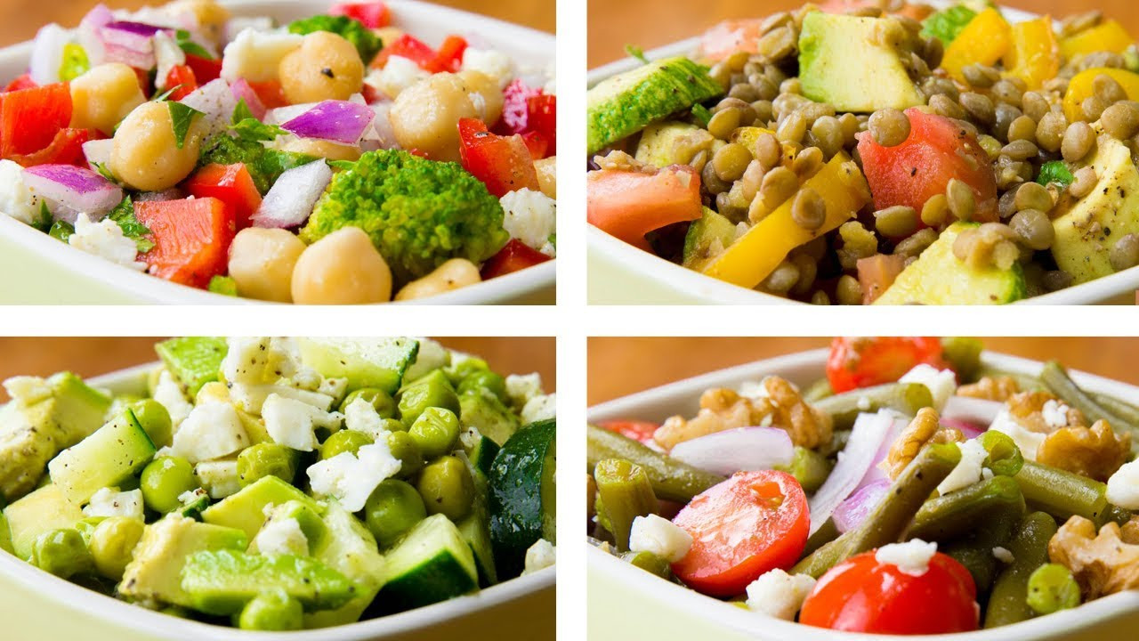 Healthy Salads For Weight Loss  4 Ve able Salad Recipes For Weight Loss