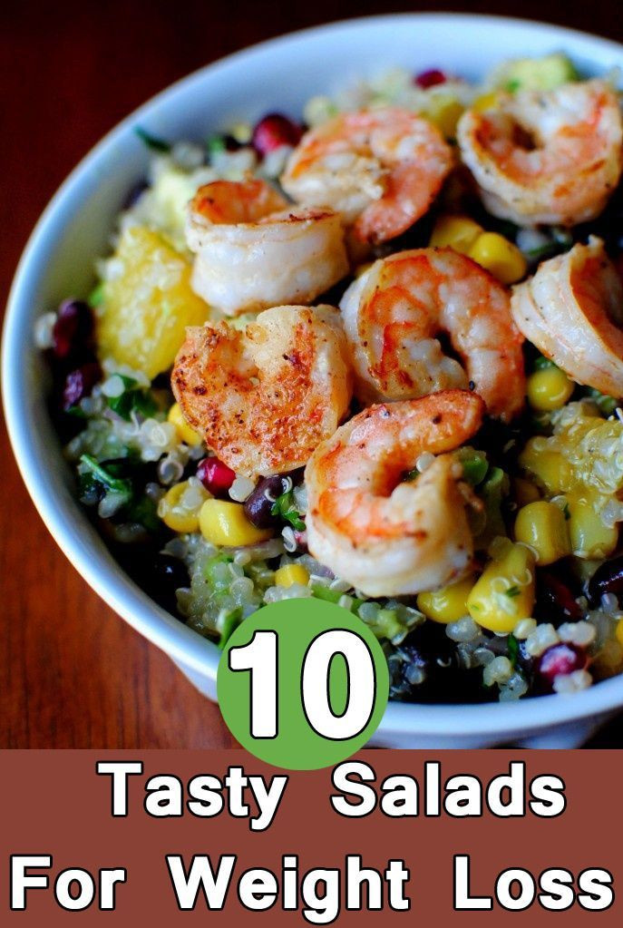 Healthy Salads For Weight Loss  Healthy salads for weight loss beginner exercise program