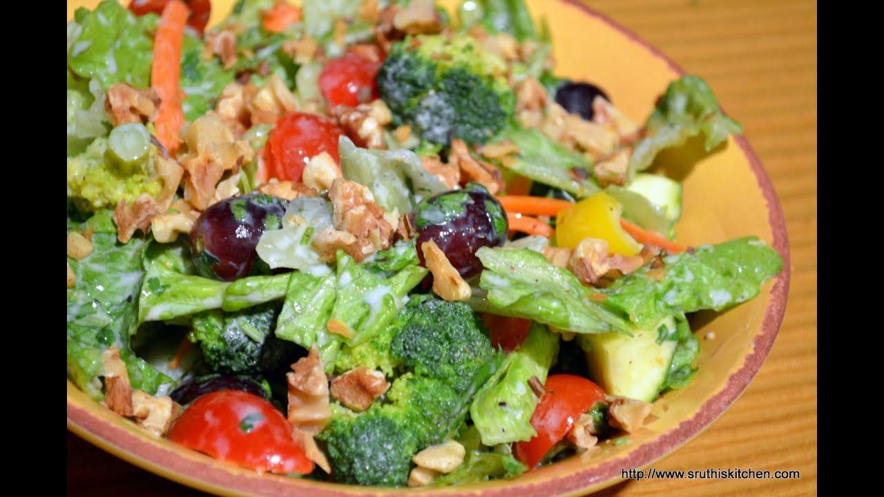 Healthy Salads Recipes  Broccoli & Lettuce Salad Healthy Salad Recipe